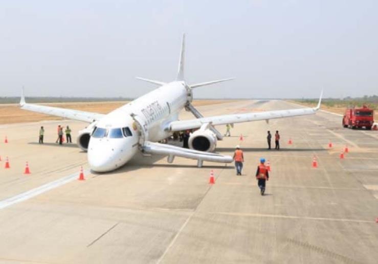 Myanmar e190 accident